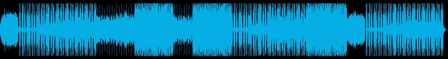 ポップで切ないBGMの再生済みの波形