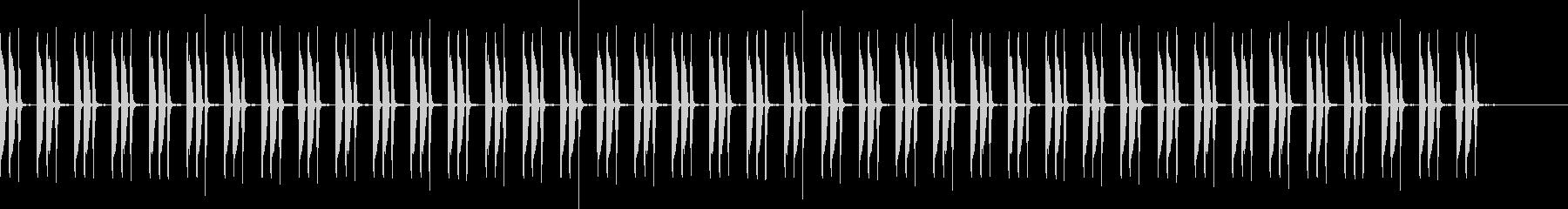 手拍子+打楽器/ズンズンチャの未再生の波形