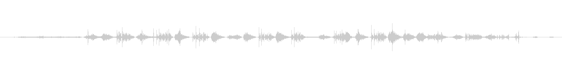 犬 パグパンツ01の未再生の波形