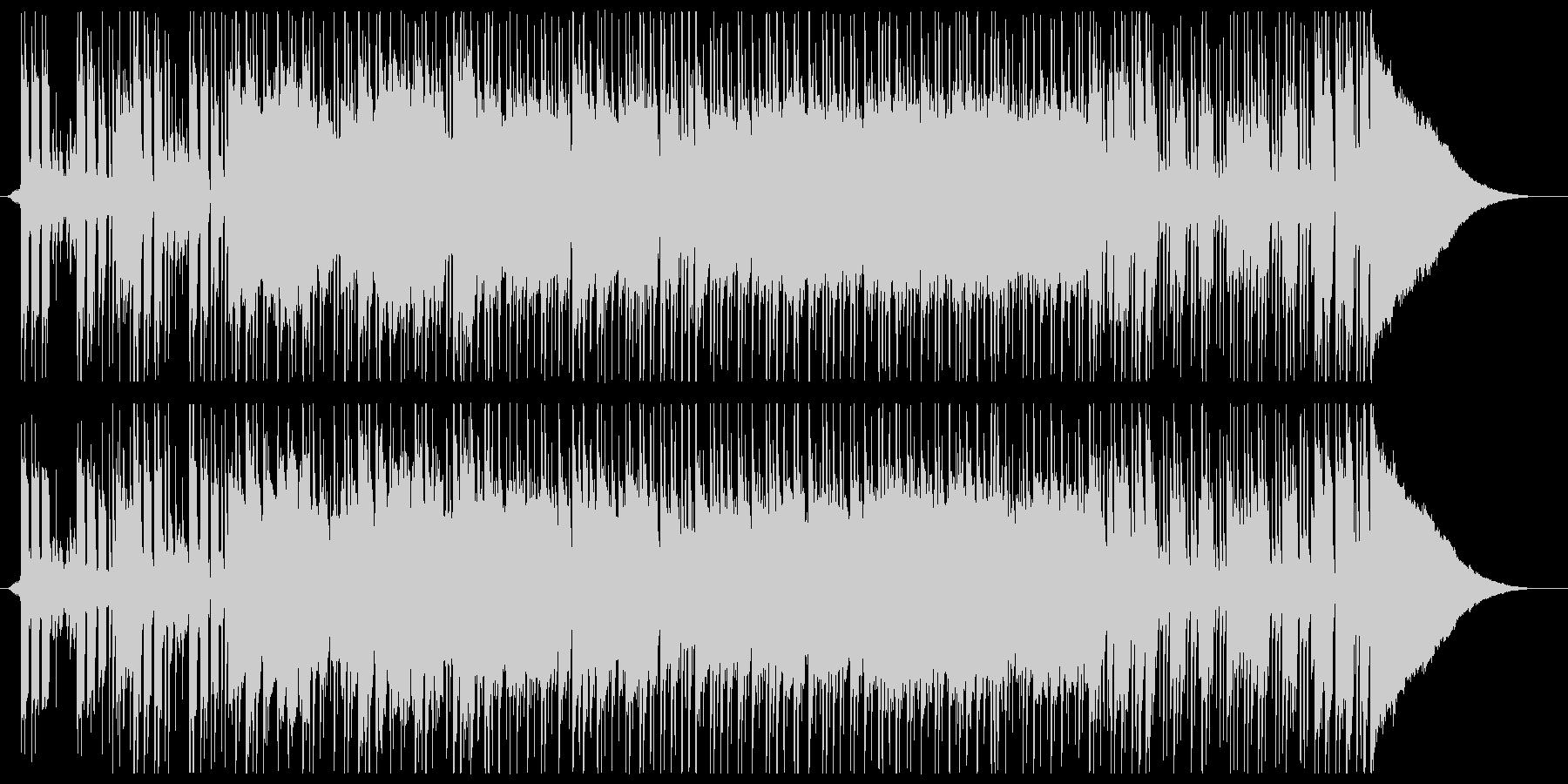 スピード感のあるクールなギターポップの未再生の波形
