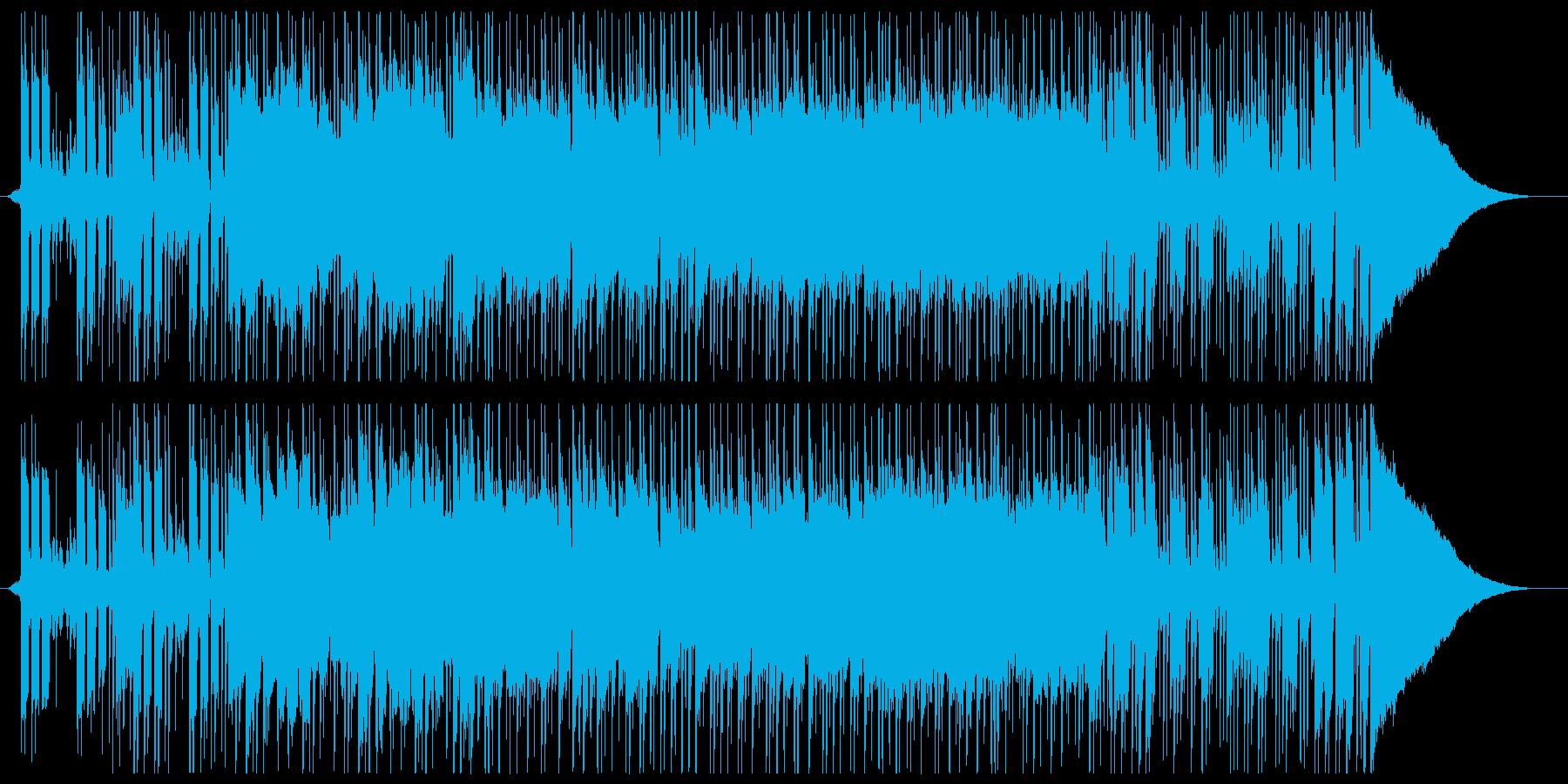スピード感のあるクールなギターポップの再生済みの波形