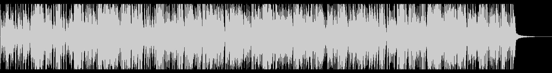 オシャレで疾走感のあるピアノジャズの未再生の波形