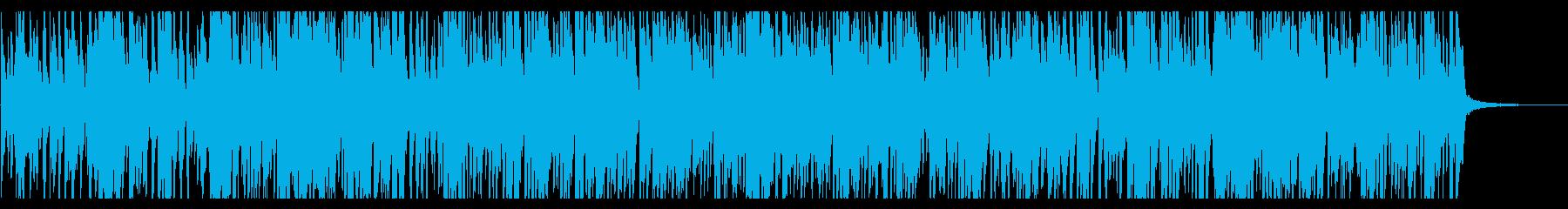 オシャレで疾走感のあるピアノジャズの再生済みの波形