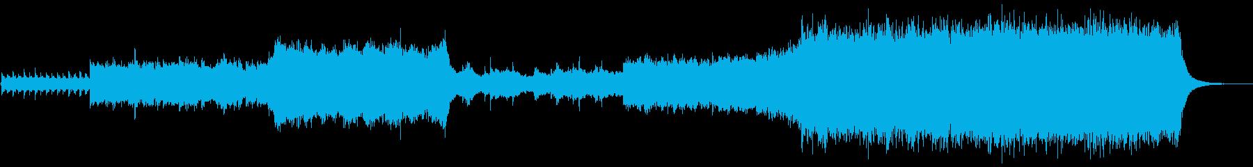 感動的なエピックオーケストラの再生済みの波形