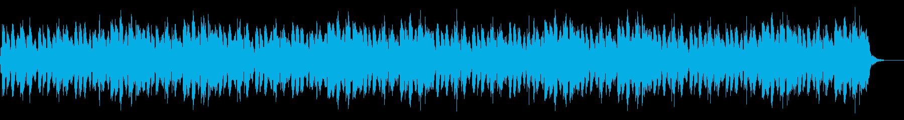 和風/物憂げなお祭り/尺八/太鼓の再生済みの波形