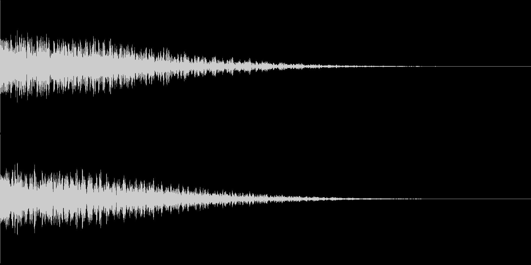 違和感、不穏、不気味な不協和音-C3の未再生の波形