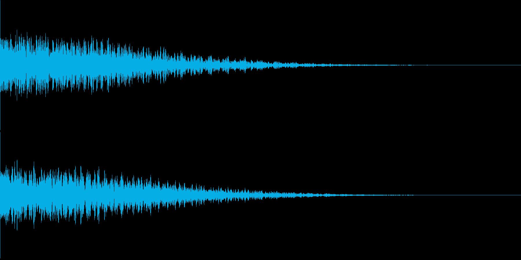 違和感、不穏、不気味な不協和音-C3の再生済みの波形