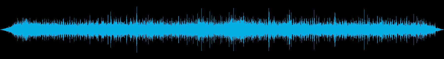 大型ショベル:重厚なトレッドキーク...の再生済みの波形