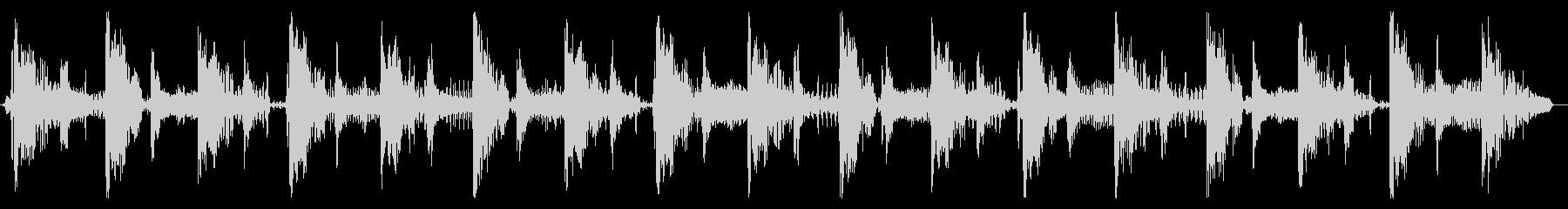 ベース生演奏のクールスラップジングル08の未再生の波形