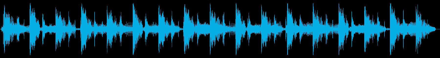 ベース生演奏のクールスラップジングル08の再生済みの波形