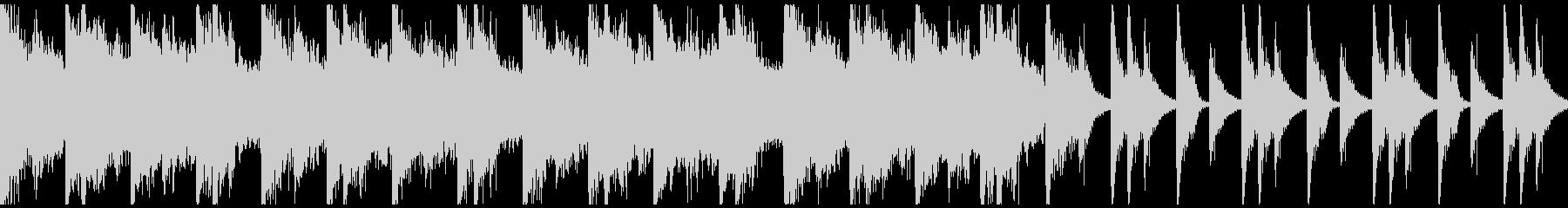 勇壮クラップ&ストンプのロック/ループの未再生の波形