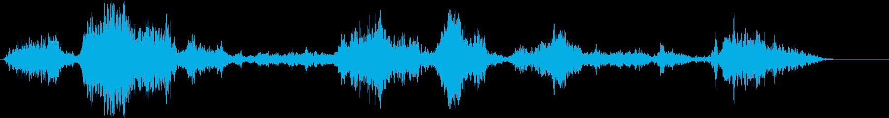 ウルフクライ;不気味なマルチ、リバ...の再生済みの波形