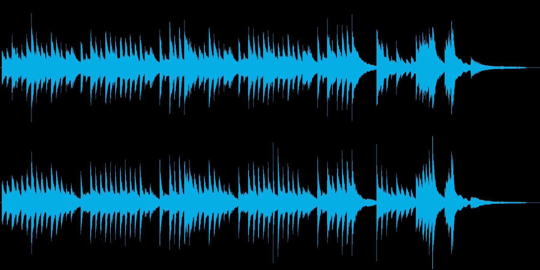 童謡・うれしいひなまつりピアノBGM③の再生済みの波形