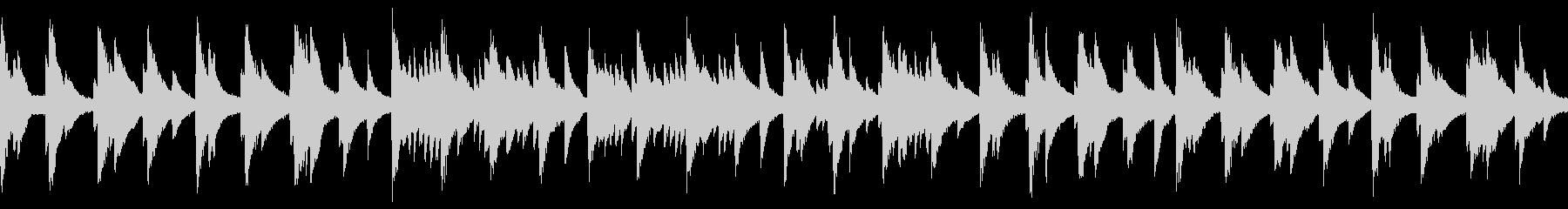 水底をイメージしたピアノBGM【ループ】の未再生の波形