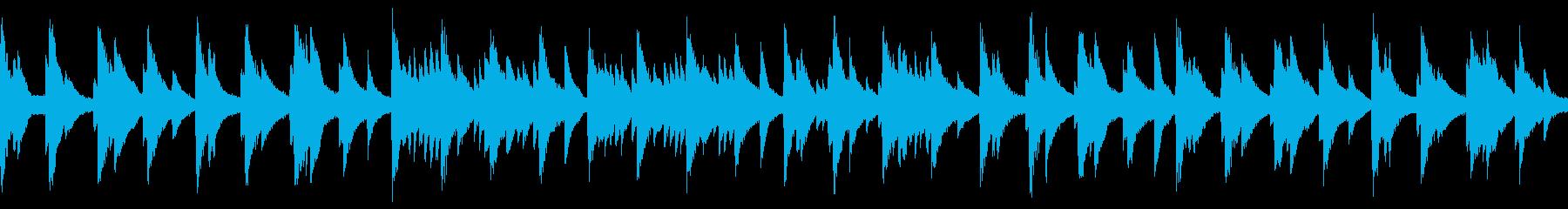 水底をイメージしたピアノBGM【ループ】の再生済みの波形