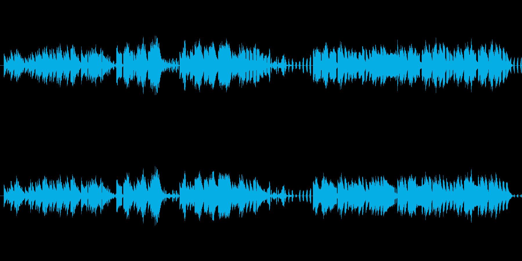 アコーディオン、オルゴールでタンゴ調に…の再生済みの波形