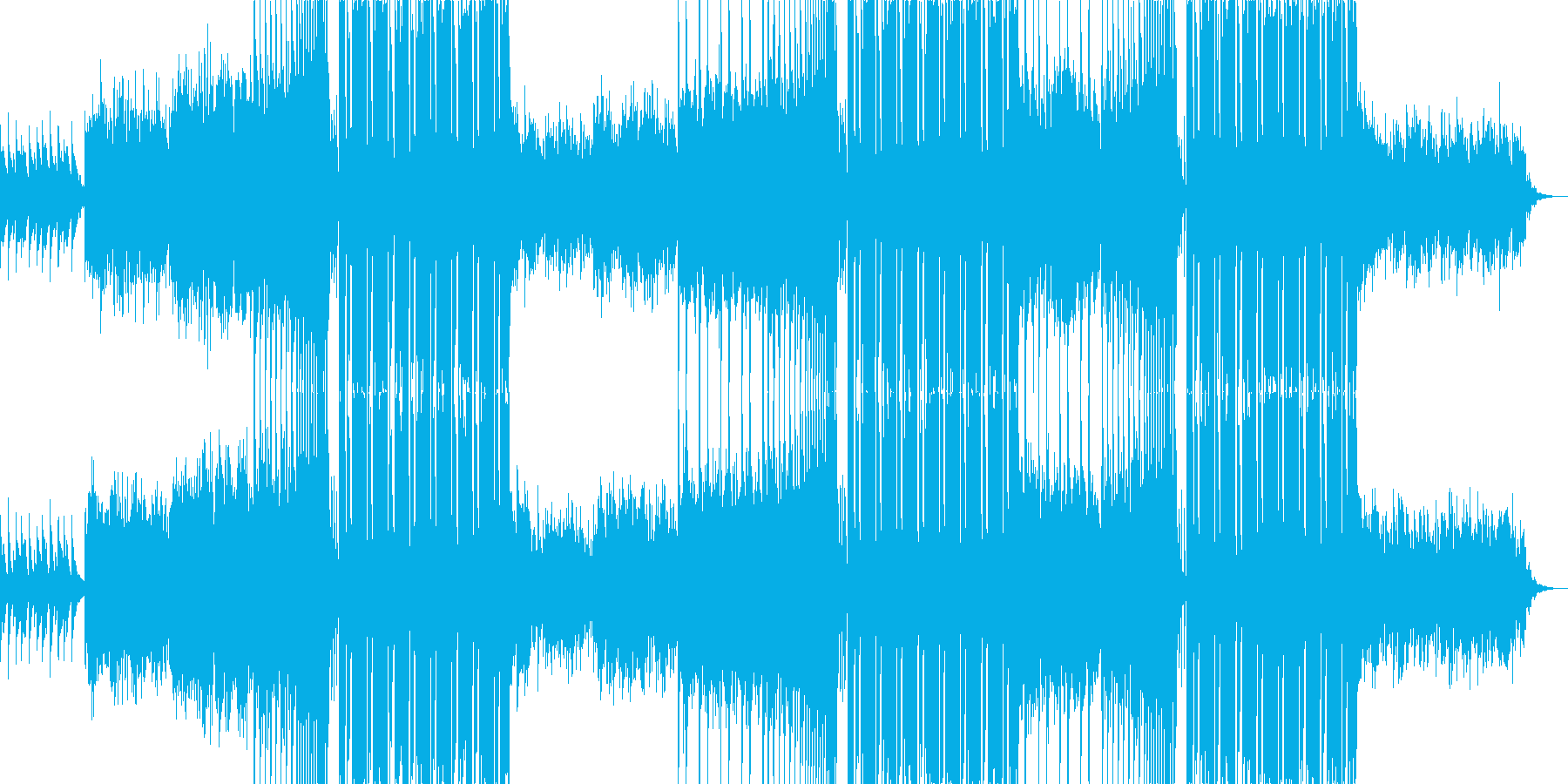 FuturePop、洋楽、ポップス、夏aの再生済みの波形