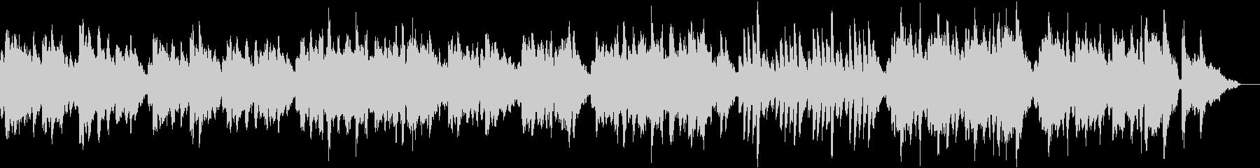 のんびりカントリー 木管楽器&ピアノの未再生の波形
