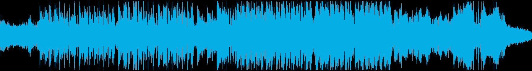 怪しいメルヘン曲・バイオリン(ループ)の再生済みの波形