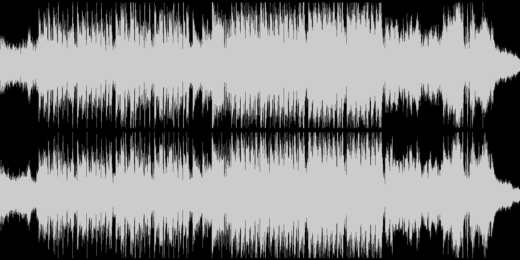怪しいメルヘン曲・バイオリン(ループ)の未再生の波形