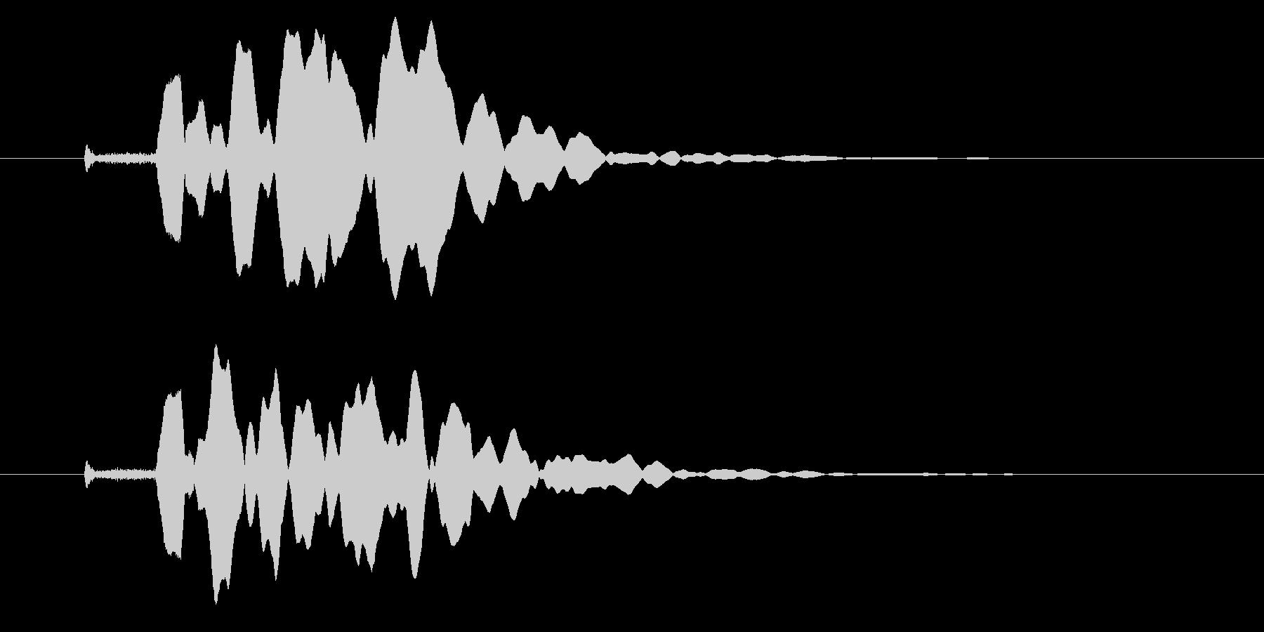 改札 ビープ音01-12(音色1 遠)の未再生の波形