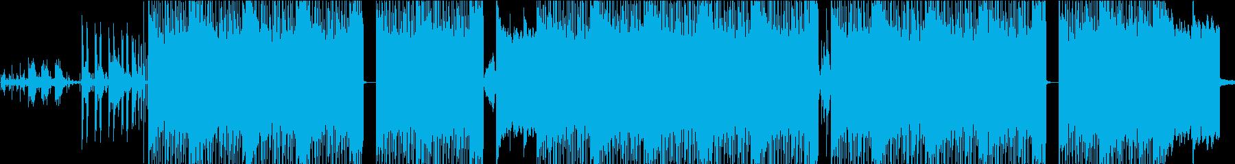 ギャングスタパラダイス。ヒップホッ...の再生済みの波形