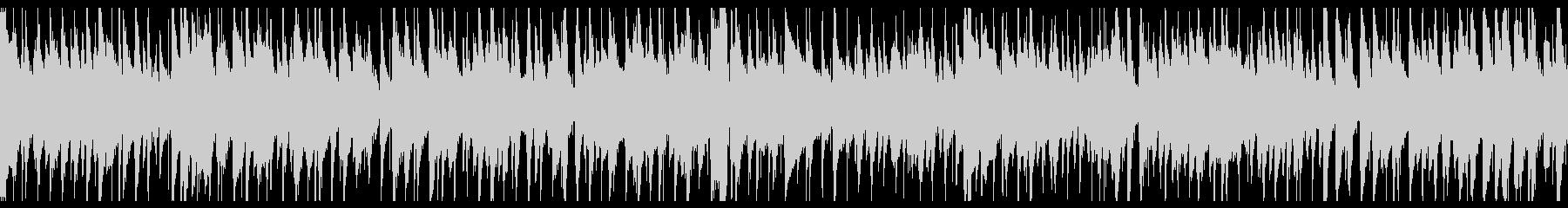 お洒落なジャズピアノトリオ21 ループの未再生の波形