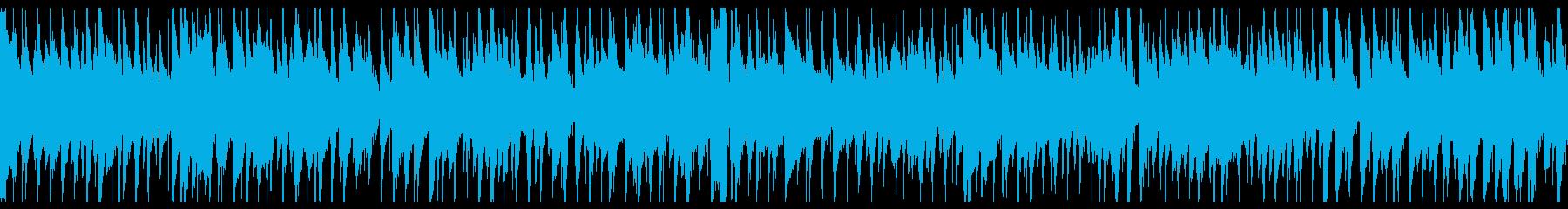 お洒落なジャズピアノトリオ21 ループの再生済みの波形