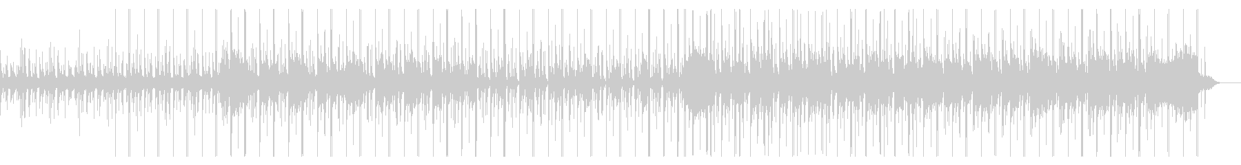Chill-out BGM with the image of the beach's unreproduced waveform