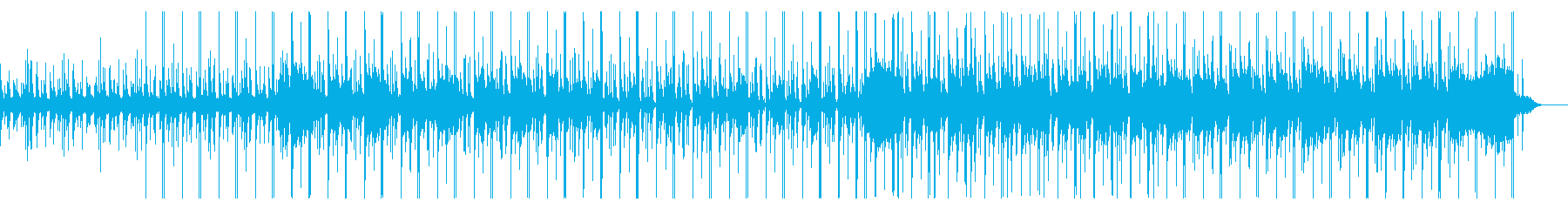 Chill-out BGM with the image of the beach's reproduced waveform