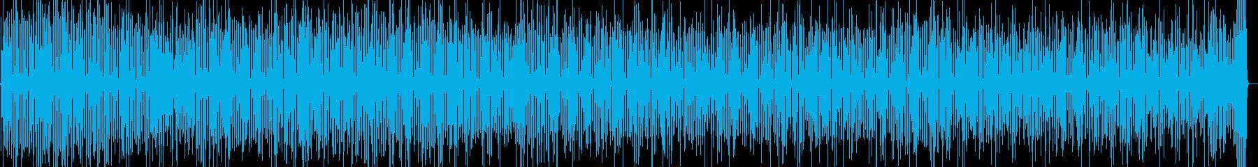コンガが軽快なチャチャチャの再生済みの波形