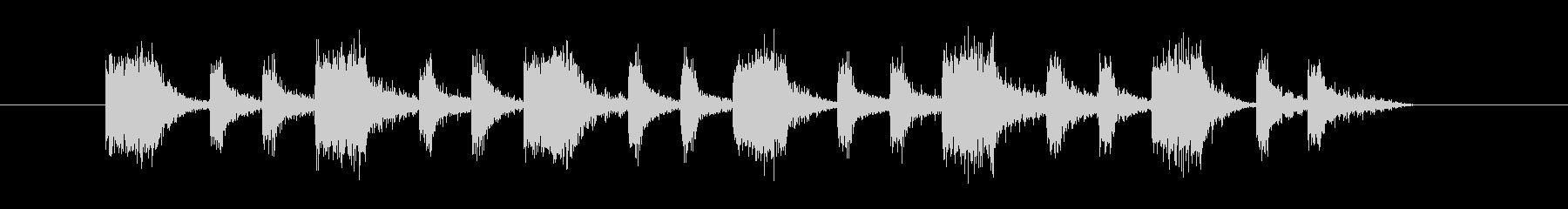 ゲーム/火や電気がパチパチするような音の未再生の波形