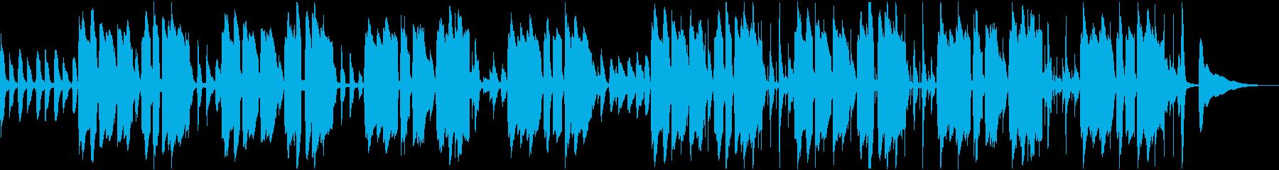 アコギとピアニカのほのぼのとしたBGMの再生済みの波形