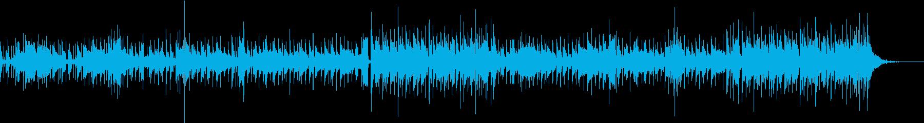 水の反射の再生済みの波形