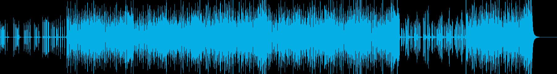 モジュラーシンセのような懐古曲の再生済みの波形