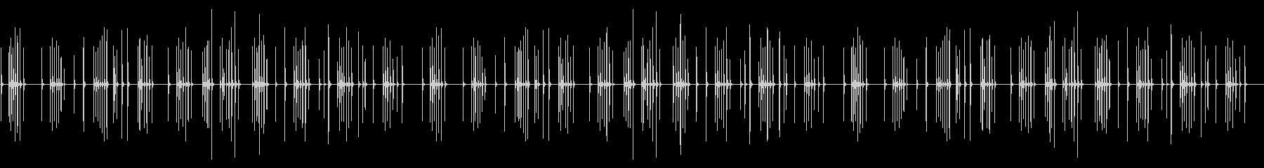 春の海 卓上木琴の未再生の波形