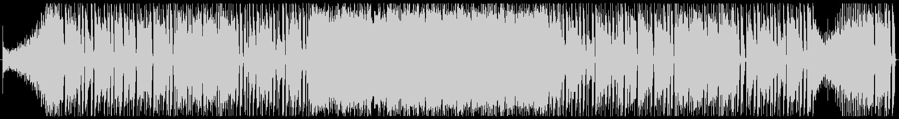 ワイルドなブルージーロックBGM 2分の未再生の波形