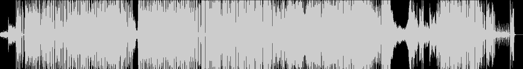 海の底のようなBGMの未再生の波形