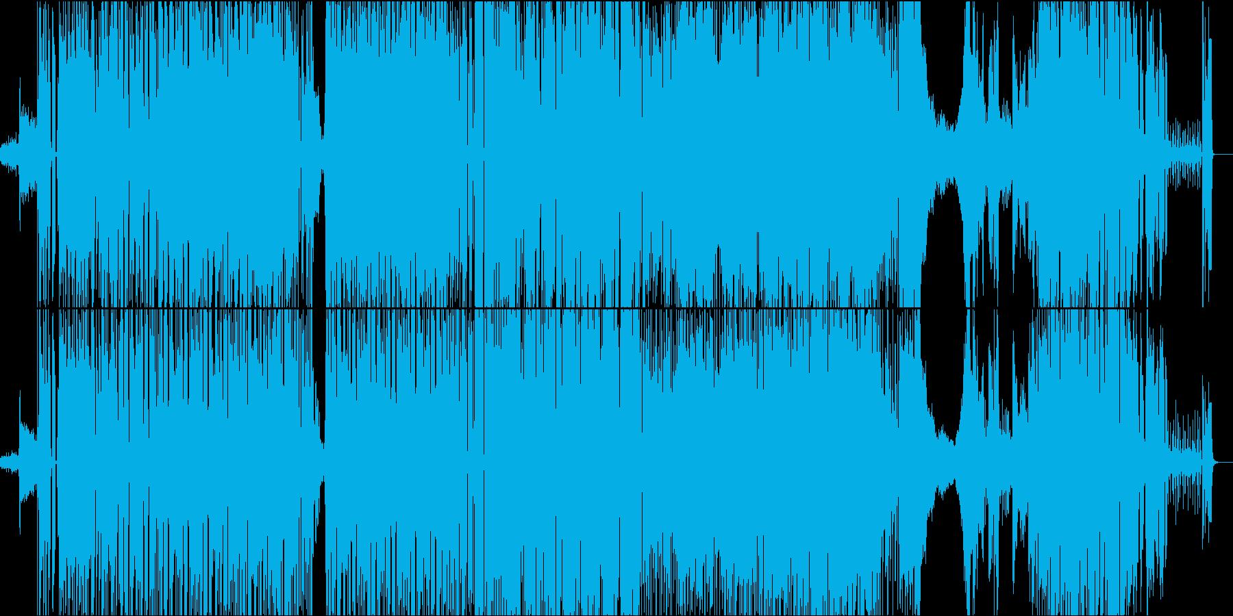 海の底のようなBGMの再生済みの波形