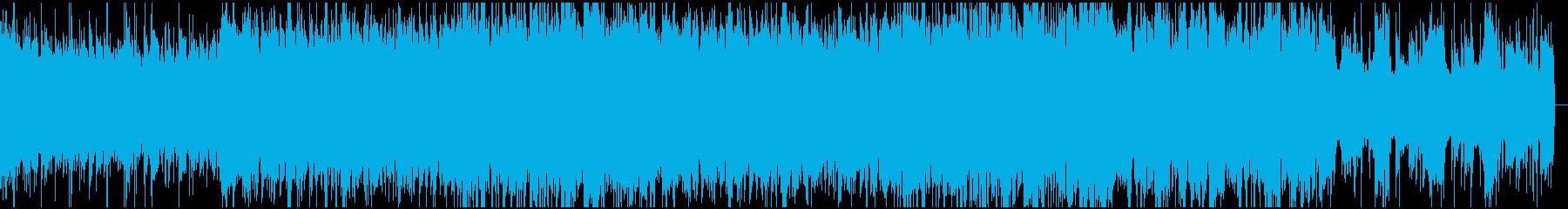 バトルに向きそうなシンプルメタルサウンドの再生済みの波形