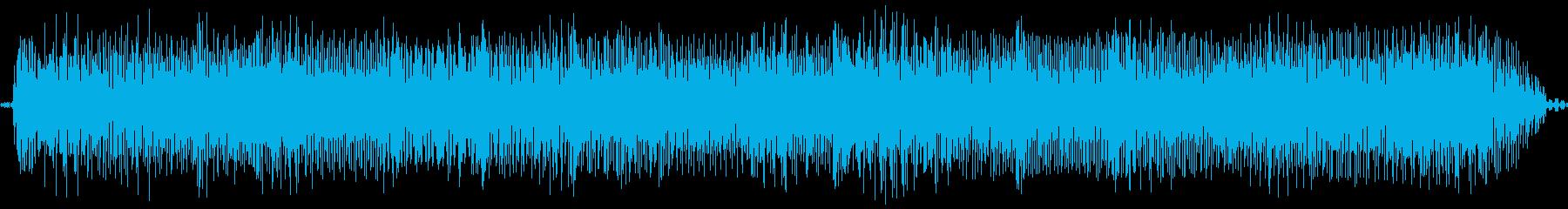 【エレキギター】ヴーミーなファズサウンドの再生済みの波形
