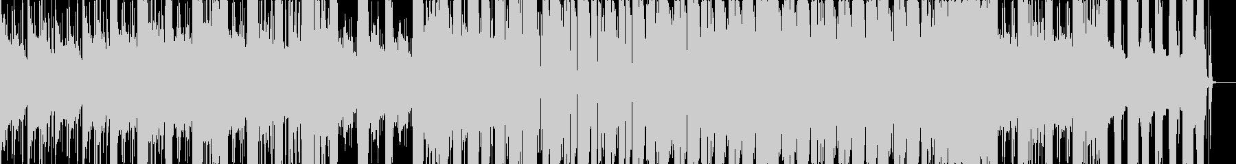 暗めなトラップの未再生の波形