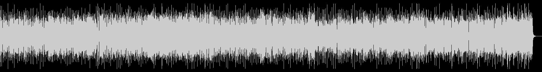 ヘヴィーなリフのロックの未再生の波形