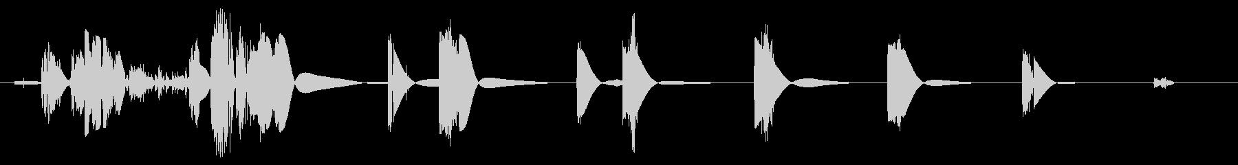 生物力学のクリーチャー:短い機械的...の未再生の波形
