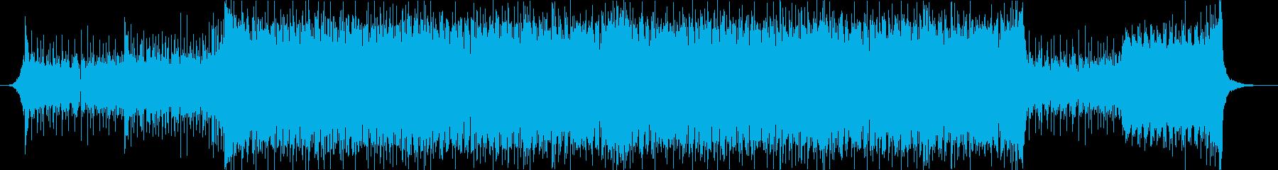 ジャジーなピアノおしゃれポップ4つ打ちcの再生済みの波形