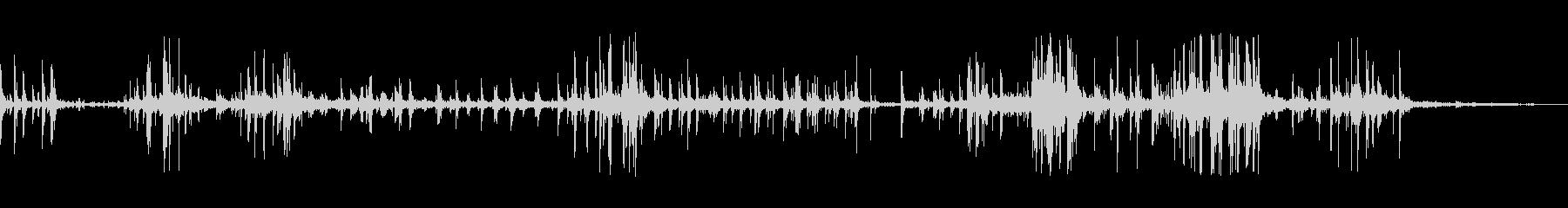 メタルフェンスシェイクの未再生の波形