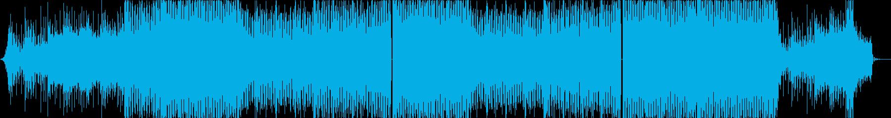 緊迫、緊張、暗く疾走感のある戦闘バトルcの再生済みの波形