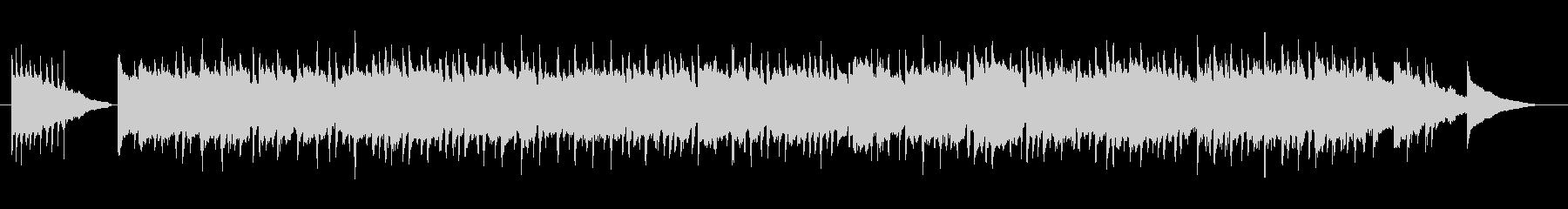 別れのピアノワルツ曲の未再生の波形