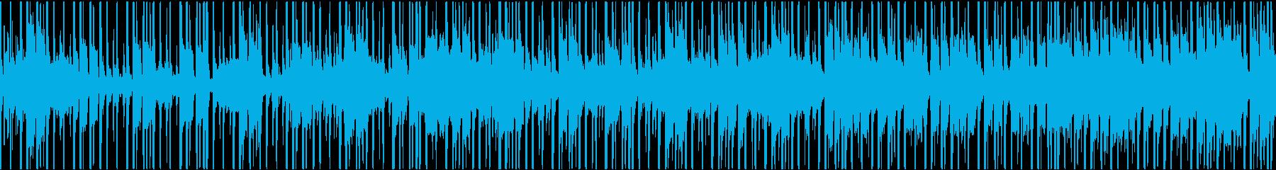最先端と和テイストの融合したBGMの再生済みの波形