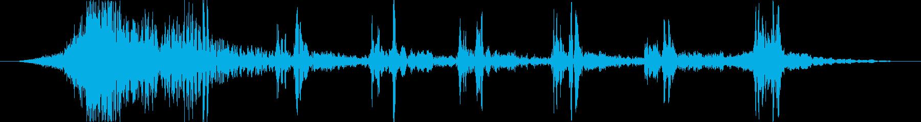 トランジション プロモーションパッド71の再生済みの波形